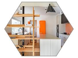 Nelson mid-century kitchen
