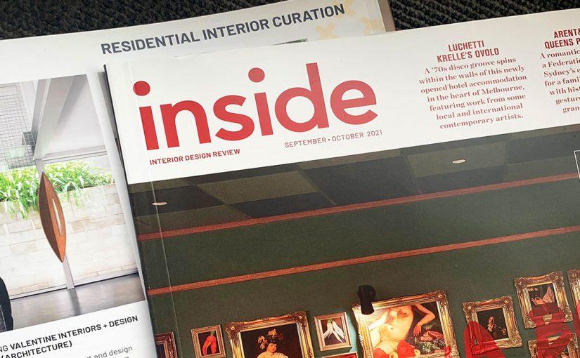 published in inside magazine